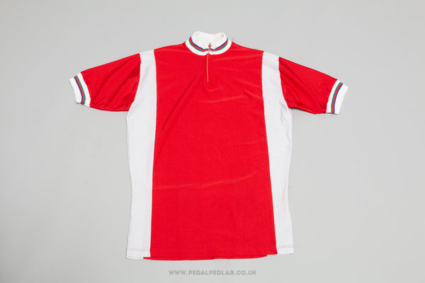Sport NOS Vintage Woollen Style Cycling Jersey