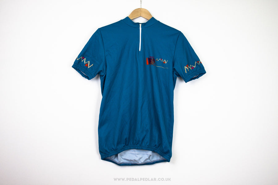 Basic Vintage Short Sleeve Cycling Jersey - Pedal Pedlar  - 1
