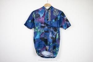 Unknown Vintage Short Sleeve Cycling Jersey - Pedal Pedlar  - 2