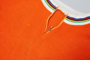 World Champion - Vintage Woollen Style Cycling Jersey - Pedal Pedlar  - 1