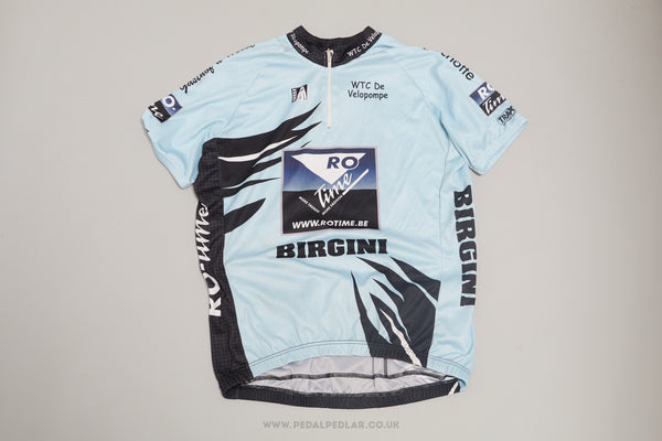 Geest Birgini Vintage Short Sleeve Cycling Jersey