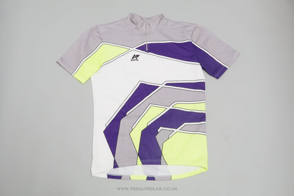 Azura Vintage Short Sleeve Cycling Jersey