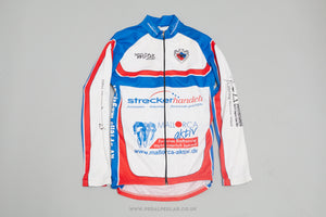 Wooba Long Sleeve Full Zip Vintage Cycling Jersey