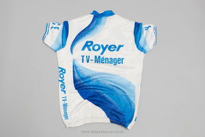 Royer Maucourt Short Sleeve Vintage Cycling Jersey