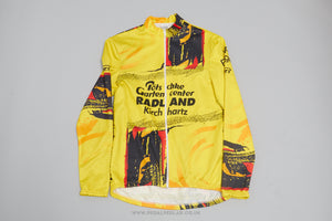 Rizi Long Sleeve Full Zip Vintage Cycling Jersey