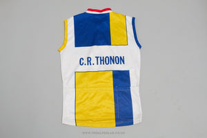 Noret Sleeveless Vest Vintage Cycling Jersey