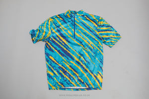Decathlon Short Sleeve Vintage Cycling Jersey