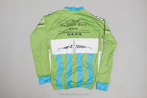 Selev Kalas Long SLeeve Full Zip Vintage Cycling Jersey