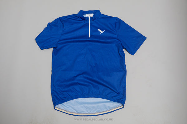 Alex Athletics Blue Short Sleeve Vintage Cycling Jersey