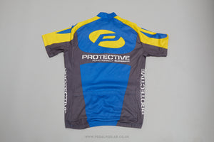 Protective Functionally Short Sleeve Vintage Cycling Jersey