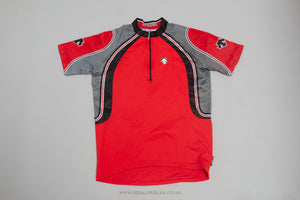 Descente Short Sleeve Vintage Cycling Jersey