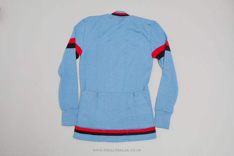 Moffi Vintage Woollen Long Sleeve Cycling Jersey