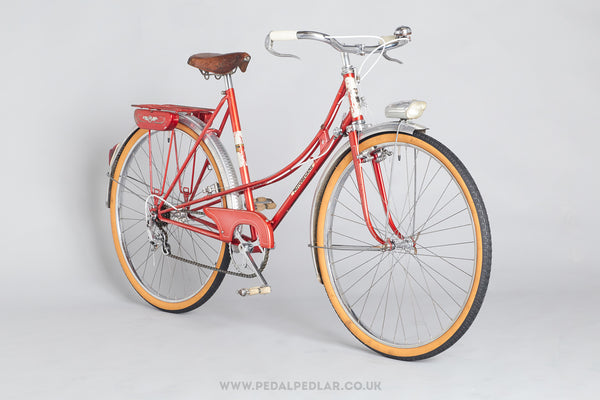 51.5cm Motobecane 1960s Step-Through Ladies Vintage Steel Town Bike