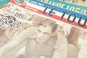But Et Club - Le Miroir Des Sports Vintage Cycling Newspapers/Magazines - Issues from 1954 to 1959