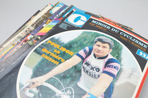 Miroir Du Cyclisme - Vintage Cycling Magazines - Issues from 1971 to 1980