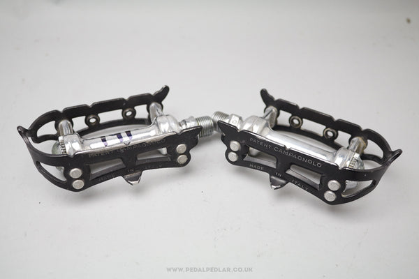Campagnolo Super Record Vintage Quill Pedals - Pedal Pedlar  - 1