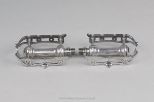 Campagnolo Record (1st Generation Late 1950s) Vintage Quill Road Pedals - Pedal Pedlar - Classic & Vintage Cycling