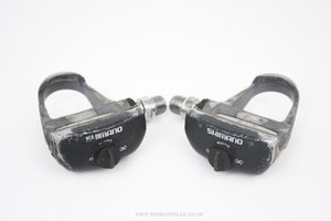 Shimano PD-6402 600EX Vintage Clipless Pedals - Pedal Pedlar  - 1