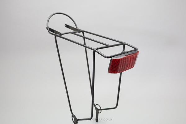 Vintage Rear Pannier Rack With Reflector