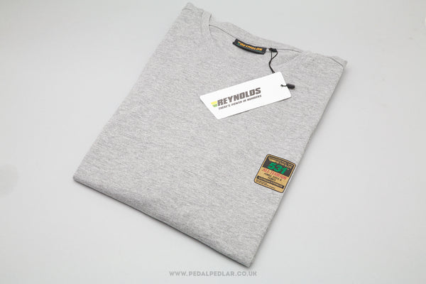 Reynolds 531 All-Terrain Tubing T-Shirt in Marl Grey