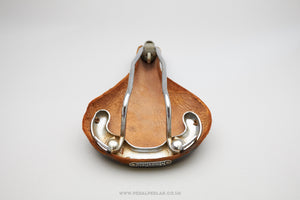 Mansfield 'Victor' Vintage Leather Racing Saddle