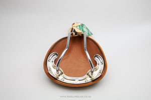 Classic Style New Tan Leather Saddle