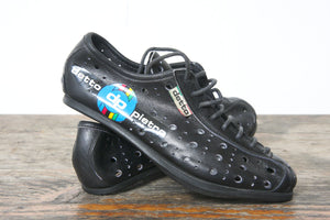 Detto Pietro NOS Vintage Childrens Cycling Shoes - Pedal Pedlar  - 1