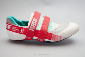 Time Equipe TBT Size 9 Vintage Cycling Shoes