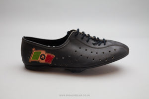 Rogelli NOS Vintage Leather Cycling Shoes - Size UK 4