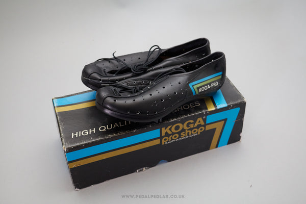 Detto Koga Pro NOS Vintage Team Cycling Shoes - UK Size 4