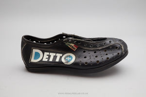 Detto Pietro NOS Vintage Leather Cycling Shoes - Size UK 3.5