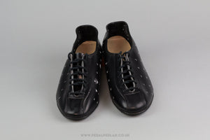 Ours  NOS Vintage Leather Cycling Shoes - Size 39 - Pedal Pedlar - Classic & Vintage Cycling