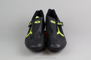 Diadora Circuit NOS Vintage Leather Cycling Shoes - Size 49 - Pedal Pedlar - Classic & Vintage Cycling