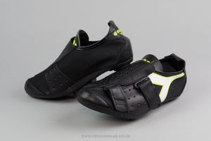 Diadora Ironman NOS Vintage Cycling Shoes - Size 36 - Pedal Pedlar - Classic & Vintage Cycling