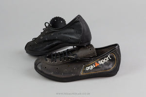 Agu Sport  NOS Vintage Leather Cycling Shoes - Size 32 - Pedal Pedlar - Classic & Vintage Cycling