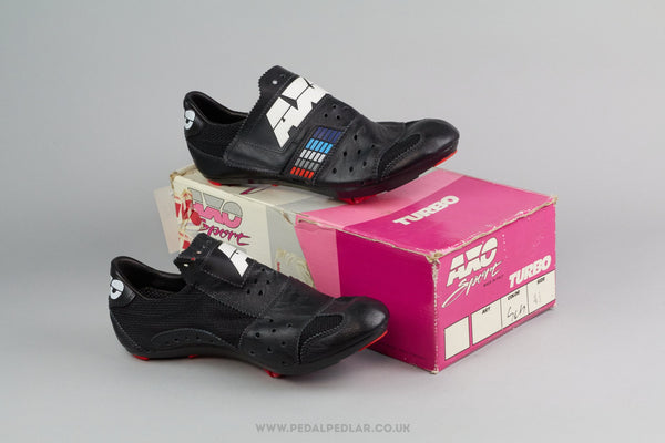 Axo Turbo NOS Vintage Cycling Shoes - Size 41 - Pedal Pedlar - Classic & Vintage Cycling