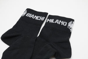 Bianchi Team Issue Coolmax Socks Black - Pedal Pedlar  - 2