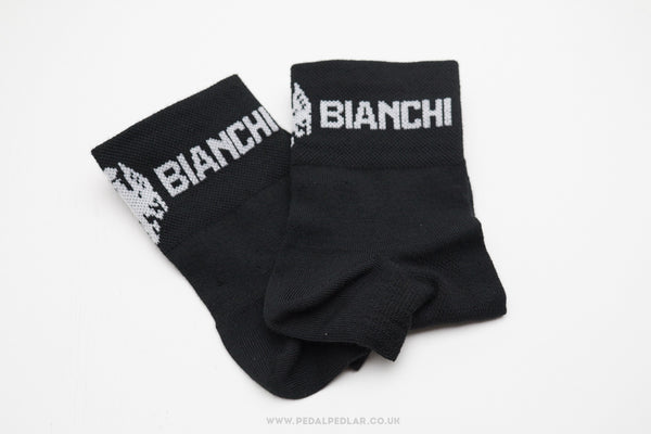 Bianchi Team Issue Coolmax Socks Black - Pedal Pedlar  - 1
