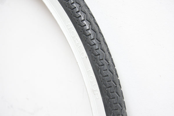 Michelin World Tour Bicycle Tyre in White Wall - Pedal Pedlar  - 1