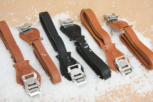 Velo Orange Grand Cru Leather Toe Straps - Pedal Pedlar  - 1