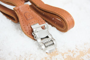 Velo Orange Grand Cru Leather Toe Straps - Pedal Pedlar  - 4