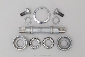 Campagnolo Nuovo Record (1046/A) French Thread 112 mm Vintage Bottom Bracket - Pedal Pedlar - Bike Parts For Sale