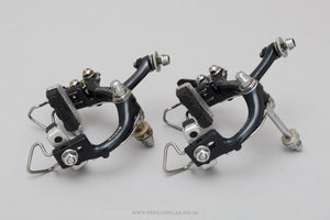 Shimano Dura-Ace (BA-100 Black Version) c.1975 Vintage Brake Calipers - Pedal Pedlar - Bike Parts For Sale