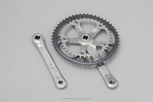 Shimano 105 (FC-1051) Biopace c.1988 Vintage Double Chainset - Pedal Pedlar - Bike Parts For Sale