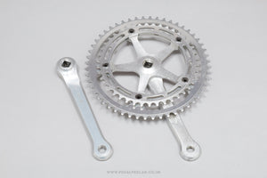 Campagnolo Nuovo Record Strada (1049 V4) Vintage Chainset - Pedal Pedlar - Bike Parts For Sale