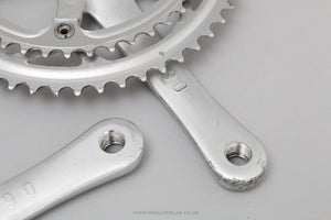 Campagnolo Mirage (FC-11MI) c.1996 Classic Double Chainset - Pedal Pedlar - Bike Parts For Sale