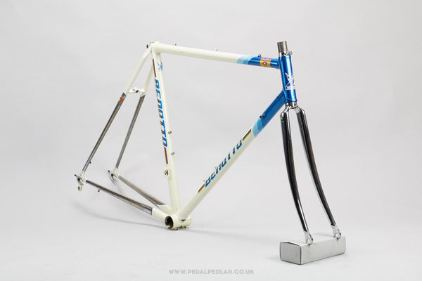 52.5cm Benotto Vintage Road Bike Frame - Pedal Pedlar - Framesets For Sale