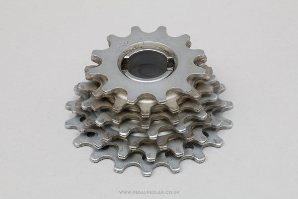 Campagnolo Narrow Aluminium Vintage 7 Speed 12-19 Freewheel - Pedal Pedlar - Bike Parts For Sale