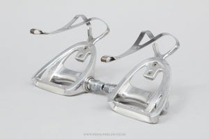 Campagnolo Triomphe (905/000) w) Toe Clips Vintage Aero Road Pedals - Pedal Pedlar - Bike Parts For Sale