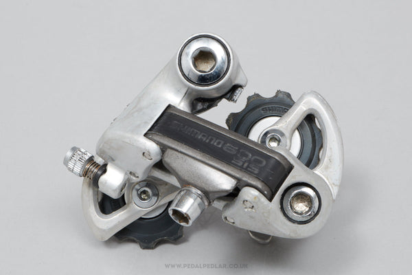 Shimano 600 EX (RD-6208) c.1986 Vintage Rear Mech - Pedal Pedlar - Bike Parts For Sale